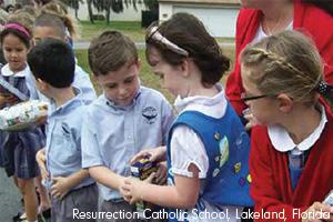 Students  faculty honor National Catholic Schools Week